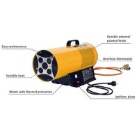 gas blow heater